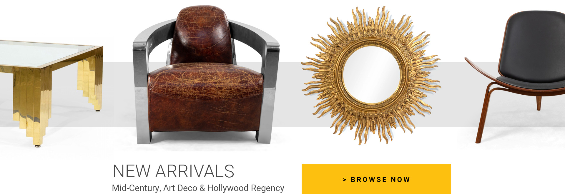 NEW ARRIVALS - Mid-Century, Art Deco & Hollywood Regency